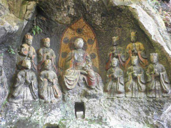ホキ石仏第一群 地蔵十王像