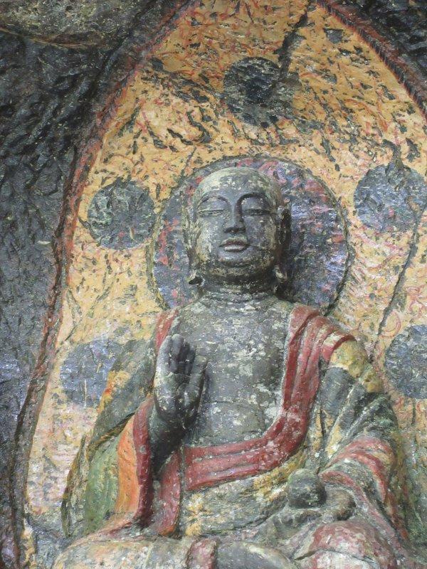 地蔵菩薩、頭上の円の梵字