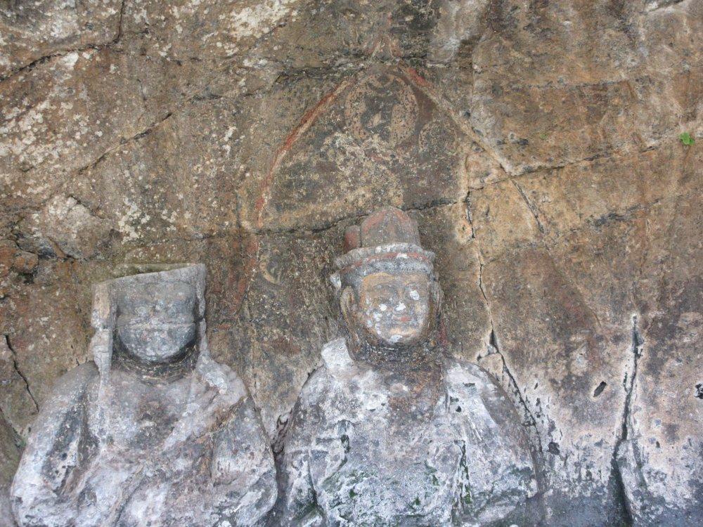 勢至菩薩坐像の梵字