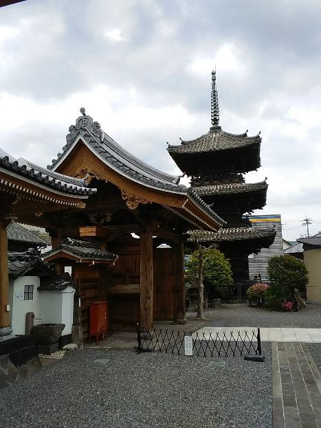 臼杵の街のシンボルでもある三重塔