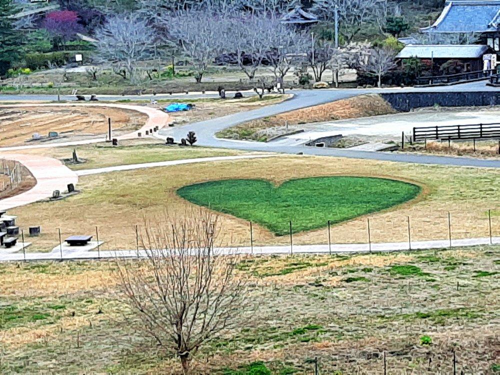 緑のハート バレンタインVer.